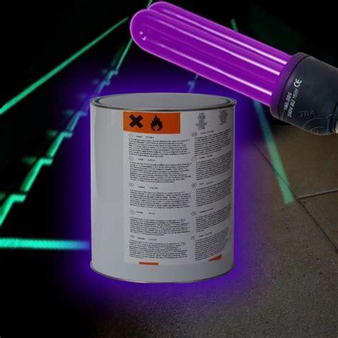 epoxy uv fluorescent paint floor and wall
