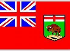 Fahne Manitoba, Flagge Manitoba, Fahnen Manitoba, Flaggen