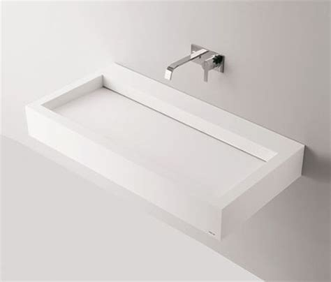 bathroom drains seamless basin sink slot