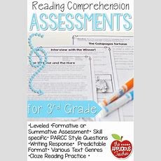 Reading Comprehension Tests 3rd Grade  Comprehension, Assessment And Love