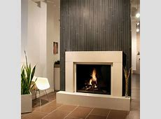 Contemporary Fireplace Designs with TV Above Ward Log Homes