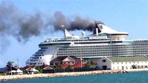 Cruise Ship Fire Breaks Out Near Jamaica - NBC News