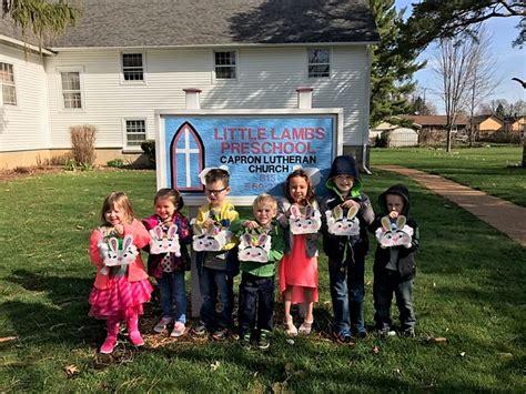 lambs preschool capron lutheran church 501 | Little lambs easter pic2