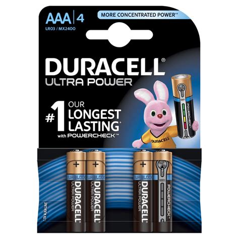 Duracell Ultra Power Aa Batteries