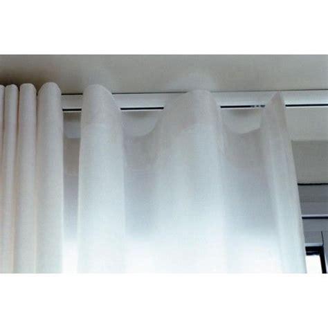 Silent Gliss Rollo by Silent Gliss 3840 Curtain Track Standard Glider White
