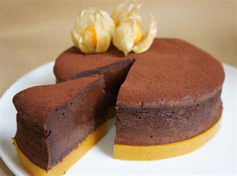 moelleux au chocolat et mangue hervecuisine