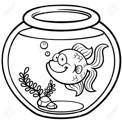 goldfish clipart black and white goldfish clipart bowl drawing pencil and in color