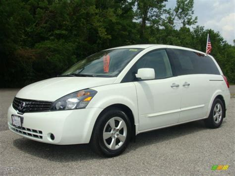 2007 Nordic White Pearl Nissan Quest 3.5 S #14650530