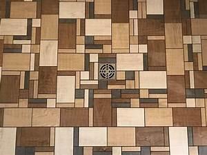 Terrasse En Mosaique : mosa que imitation bois pour douche italienne aix en ~ Zukunftsfamilie.com Idées de Décoration
