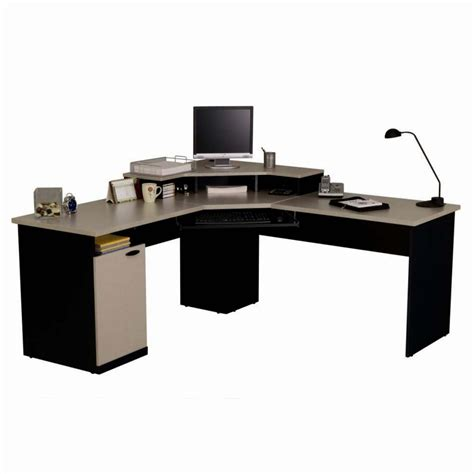large corner computer desk creative arrangement large corner office desk decosee com
