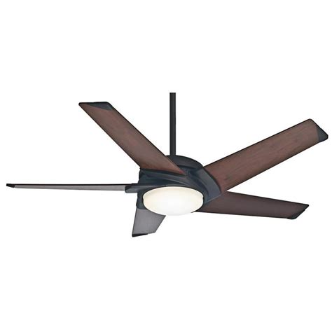 casablanca ceiling fan light kit shop casablanca stealth dc 54 in maiden bronze downrod or