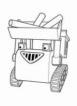 Builder Bob Coloring Muck Printables Diligent sketch template