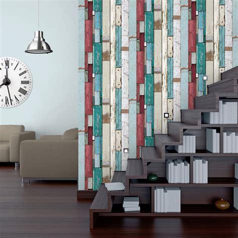 papier peint chambre adulte leroy merlin papier peint intissé planches multicouleur leroy merlin