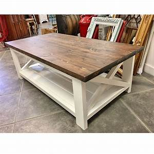 farmhouse coffee table pinemain With farm wood coffee table