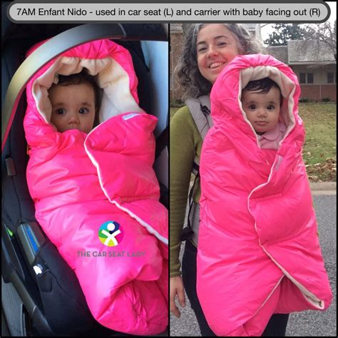Car Clothes Carrier by The Car Seat Ladykeep Warm And Safe In The Car Seat