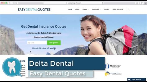 easydentalquotescom delta dental plans youtube