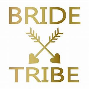amazoncom bride tribe heart arrow iron on bachelorette With bride iron on letters