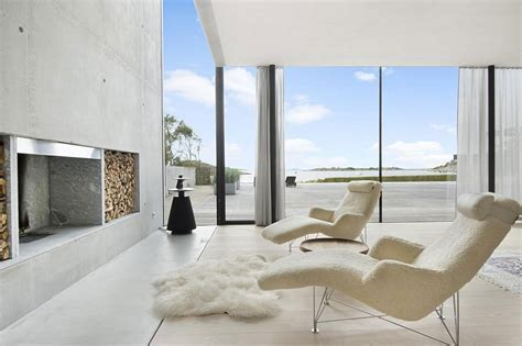 Sensational Minimalist Villa in Sweden with Private Beach