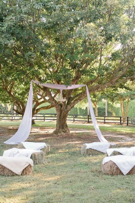 rustic lush lavender wedding wedding ceremony ideas