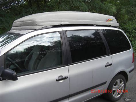 dachbox vw touran sharan dachbox dachbox direkt auf dachreling vw touran 1 204808518