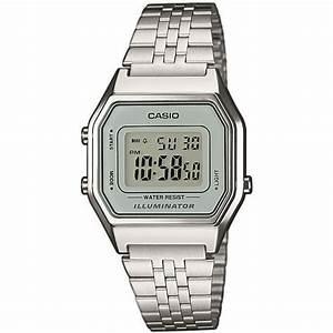 Montre Vintage Casio : montre casio vintage la680wea 7ef montre acier digitale vintage femme sur bijourama montre ~ Maxctalentgroup.com Avis de Voitures
