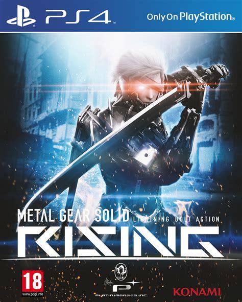 metal gear rising cover metal gear solid rising playstation 4 box art cover by visutox