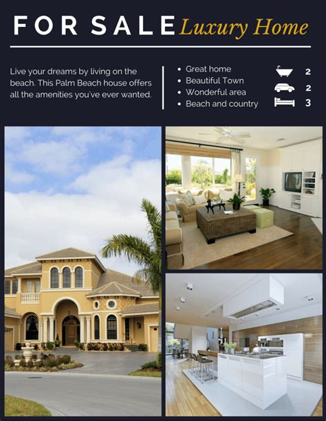Permalink to Real Estate Flyer Creator