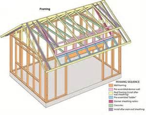 50 best shed roof framing plan project idea plans design