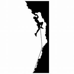 Rock Climbing Silhouette Girl | Clipart Panda - Free ...