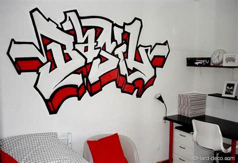 lettre prenom chambre prénom graffiti basil deco