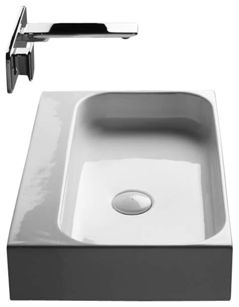 drop in bathroom sink without faucet holes unit 60 ceramic bathroom sink without faucet