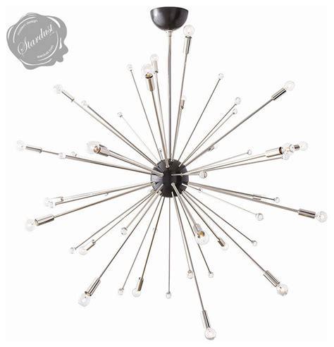 Large Modern Sputnik Light Fixture 42 inch Diameter
