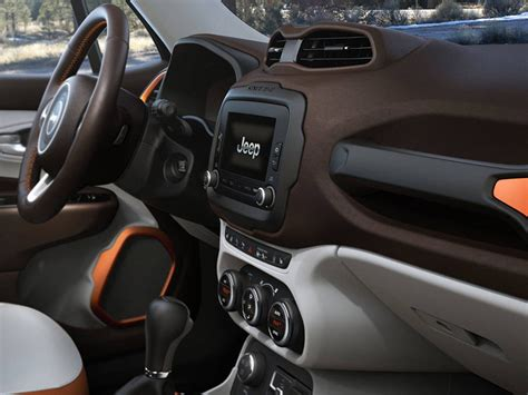 jeep renegade interior orange jeep renegade 2015 interior better concept than the newer