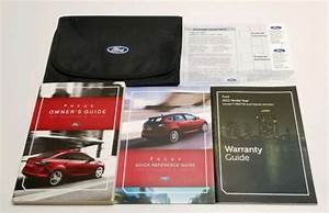 2012 Ford Focus Owners Manual Titanium Sel Se S V4 2 0l