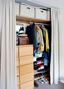 Kleiderschrank Ohne Stange : regalsystem kleiderschrank mit vorhang ~ Sanjose-hotels-ca.com Haus und Dekorationen