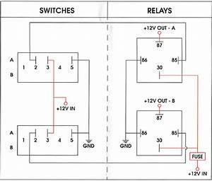 5 Terminal Relay Light Wiring Diagram