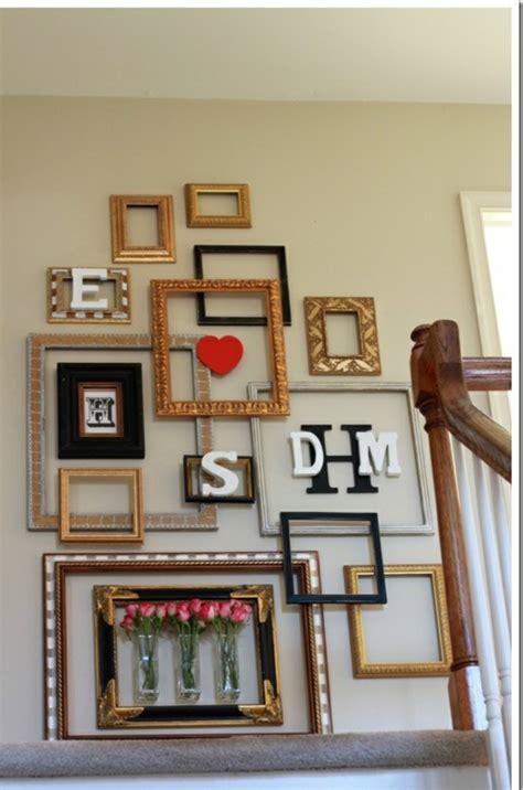 Alte Bilderrahmen Dekorieren by Bilderrahmen Dekorieren Ideen Indoo Haus Design