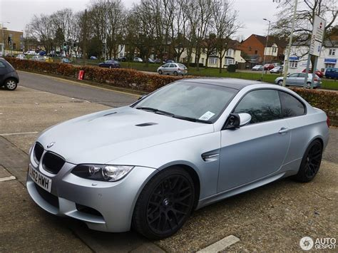 Bmw Silver by Bmw M3 E92 Coup 233 Frozen Silver Edition 23 March 2013