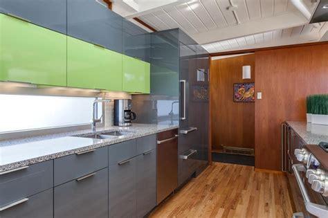 lime green kitchen doors contemporary lime green kitchen remodel in denver jm 7097