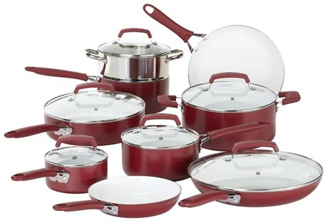 ceramic cookware wearever pots pans sets nonstick living pure