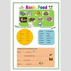 English Teaching Worksheets Food