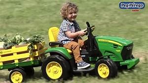 Rasenmähertraktor John Deere : peg perego john deere ground force traktor na akumulator youtube ~ Eleganceandgraceweddings.com Haus und Dekorationen