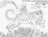 Coloring Magnolia Henri Pages Matisse Fantastic Getcolorings Printable Pa Getdrawings sketch template
