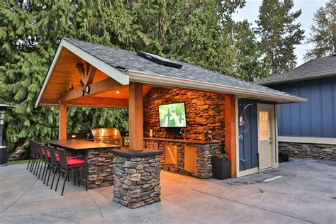 Outdoor Kitchen Countertops Ideas - creating a new outdoor kitchen