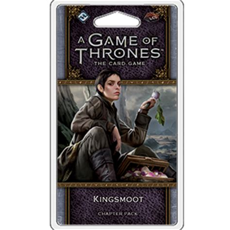 game  thrones  card game  edition kingsmoot