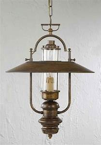 Fredeco rustic pendant lantern traditional