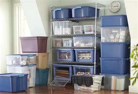 Declutter With Totes, Cubes And Storage Boxes At The Home