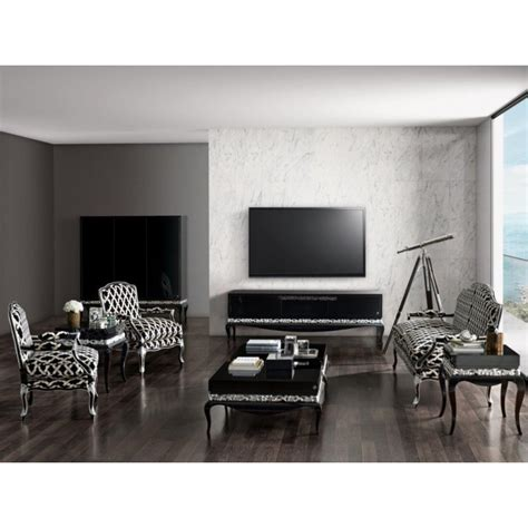 canapé cuir ancien meuble de salon de luxe composée d 39 un meuble tv canapé