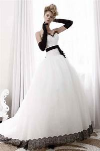 wedding dresses with black lace sang maestro With black lace wedding dresses