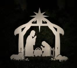 christmas outdoor nativity scene yard nativity set ebay